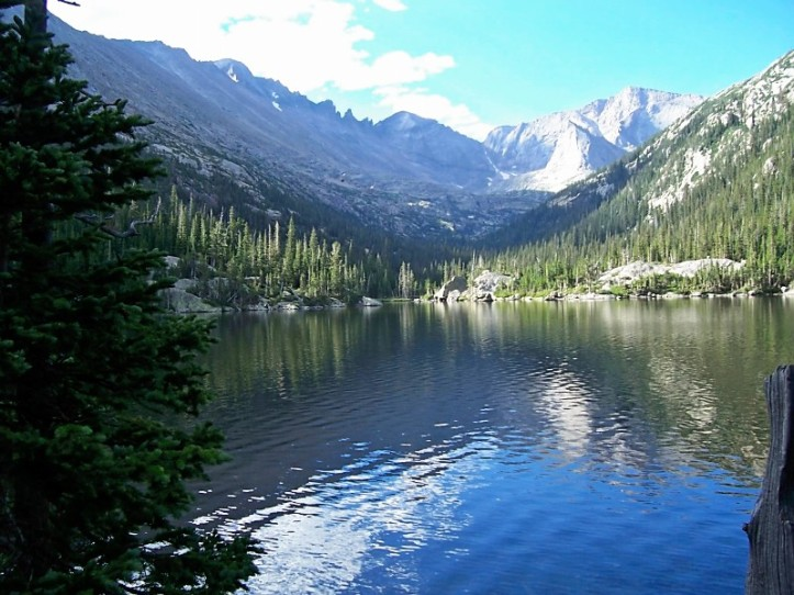 Bass Lake, Rocky Mountain National Park, Colorado